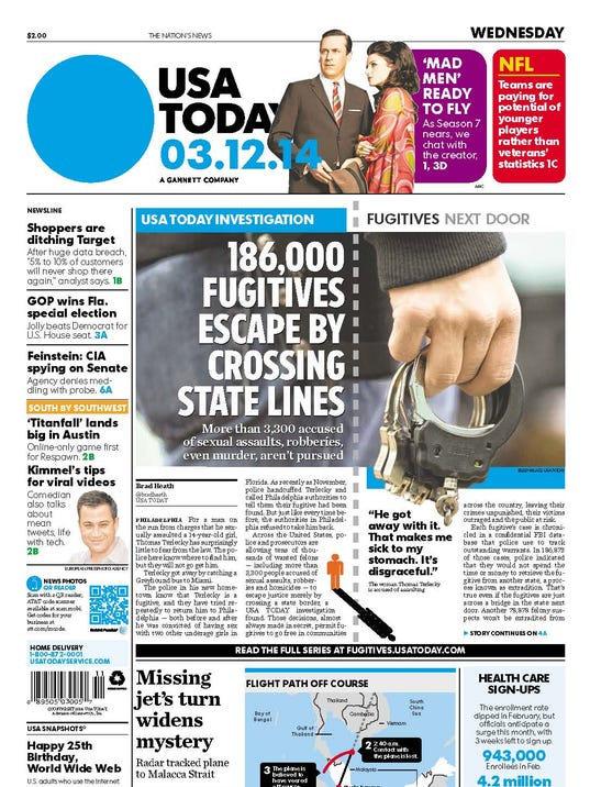 USA TODAY (March 12, 2014)