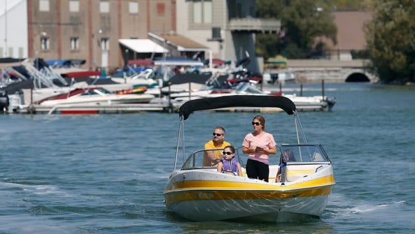 File photo of the McKee family out boating on Canandaigua