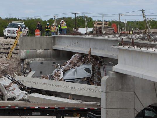 1 Dead 3 Injured In Interstate Bridge Collapse
