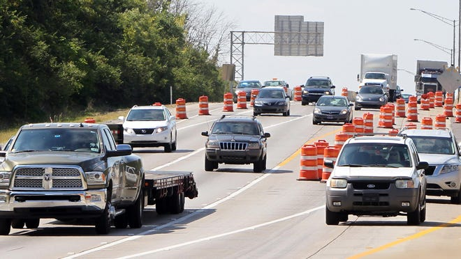 Police in Northern Kentucky will boost efforts to curb speeding on I-75 in places like this area near Buttermilk Pike through July 13.