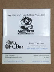 The well-worn FCBaa membership card straight from Beer Talk columnist Will Cleveland's wallet.