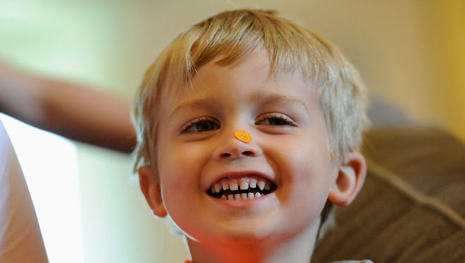 Chad Carr died from an incurable form of brain cancer, diffuse intrinsic pontine glioma, or DIPG. He was 5 years old.