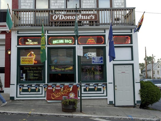O'Donoghue's in Nyack, photographed October 9, 2003.