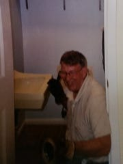 Giff Mosher is seen in this circa 2000 photo. Mosher, who died in 2013, started his plumbing business from his Brockport home, working nights and weekends.