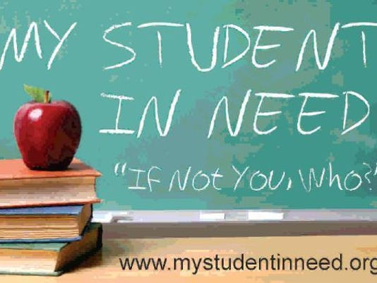 Student in need logo
