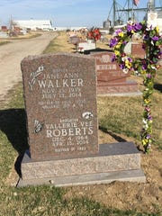 Jane Walker, Vallerie Cory's mother, died in July 2014
