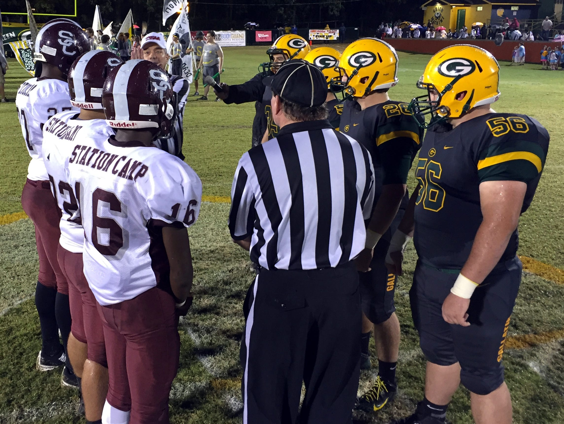 Station Camp and Gallatin meet on Sept. 23 in a rematch of last year's contest, which the Bison won 27-19.