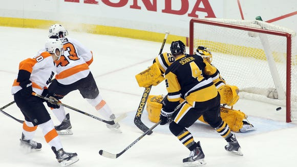 The Flyers are 11-1-1 at Consol Energy Center since the building opened.