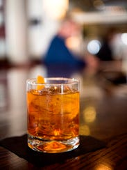 The Pumpkin Old Fashioned is a seasonal drink at Isa's