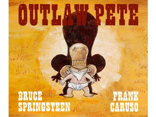 "Frank Caruso illustrated ""Outlaw Pete."""
