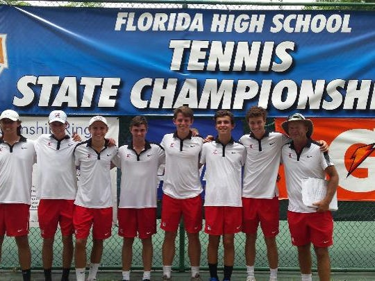 The Leon tennis team won 4-3 in a state quarterfinal