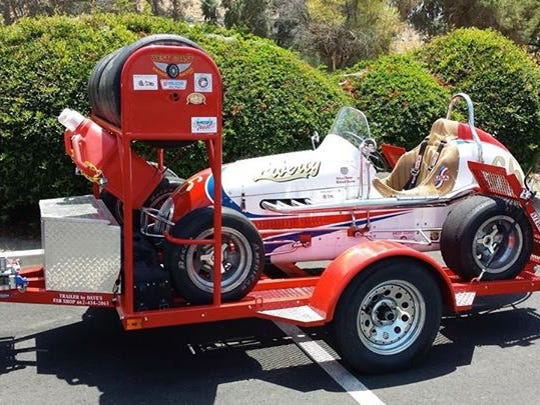 Gilbert police are asking for the public's help in locating this missing vintage race car.