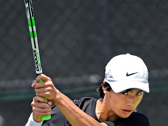 Central Magnet's Nathan Zou won the Class A/AA state