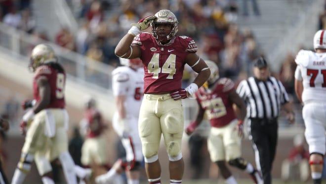 Florida State defensive end DeMarcus Walker.