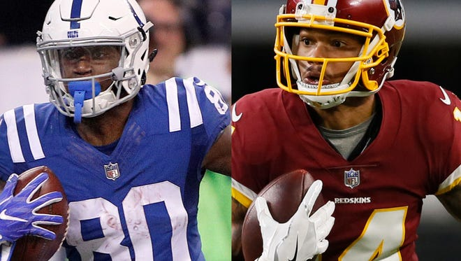 Chester Rogers and Ryan Grant lead the pack in the chase for the Colts' No. 2 receiver spot this fall.