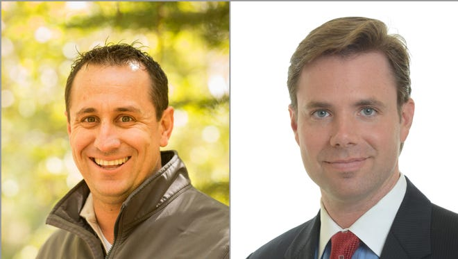 Bob Lucey and Bret Delaire are facing off in the Republican primary for the Washoe County Commission District 2 seat.