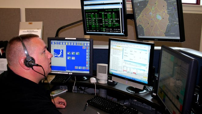 Along with a member of the Kingwood Rescue Squad, the Hunterdon County 911 Communications Center played a key role in rescuing a family trapped by rising flood waters in Kingwood, Texas.
