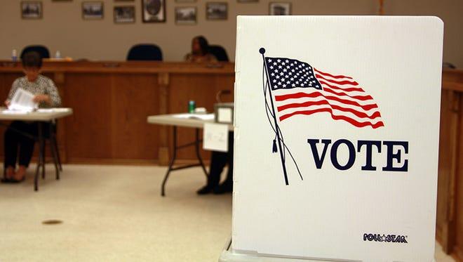 Mississippi voting precinct