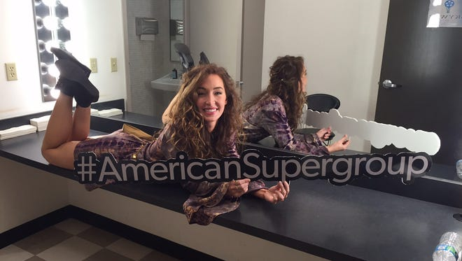 "Donica Knight is one of the cast of the brand new music competition TV series ""American Supergroup."""