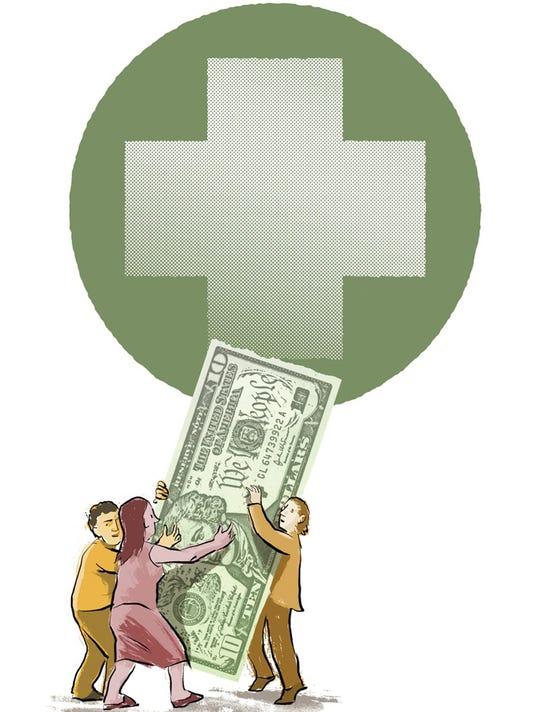 ILLUSTRATION: Health costs