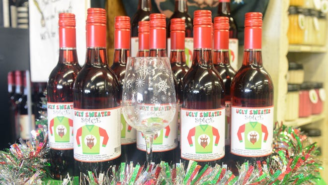 Ugly Sweater Spice is a winter wine currently available at Hall's Wine-R-We and Country Store.