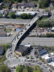 The Ashford Avenue bridge connecting Dobbs Ferry with
