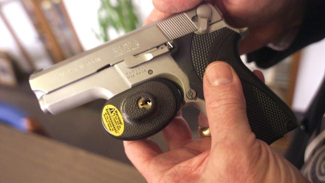 Gun locks are one of the main devices helping to make firearms safer around the home.