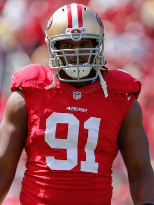 Chicago Bears defensive end Ray McDonald was arrested Monday on charges of domestic violence and child endangerment after an incident in Santa Clara, Calif.
