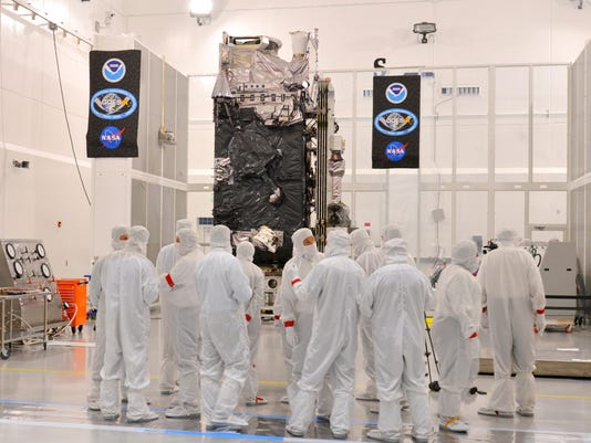 GOES-R satellite