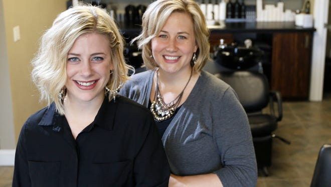 Owner/Stylist Kortney Kruger and owner Dawn Mars opened the BEST Salon in Grimes as a way to Bless, Encourage, Serve and Transform their customers.