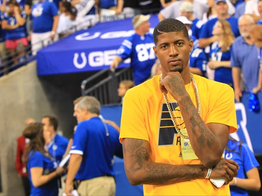 cbacc83e1a0 Larry Bird: No new contract yet for Paul George, Pacers