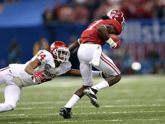 USP NCAA Football_ Sugar Bowl-Alabama vs Oklahoma