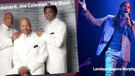"Laudau Eugene Murphy Jr., winner of 2010 NBC ""America's Got Talent"" competition, and Leonard, Coleman & Blunt are scheduled to perform at the SentryWorld Celebration Concert."