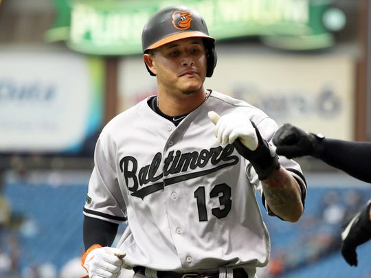 1. Manny Machado, Orioles, shortstop: Traded to the Dodgers.