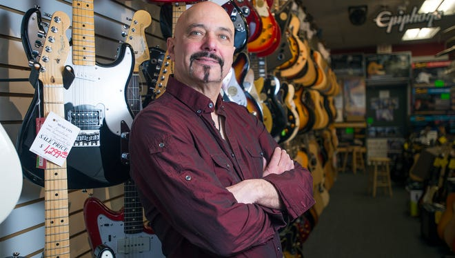 Benny Fiacco, owner of Music City in Vestal.