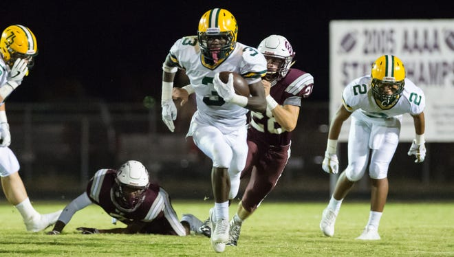 Cecilia High receiver Kaleb Carter agreed to join the Ragin' Cajuns as a preferred walk-on.