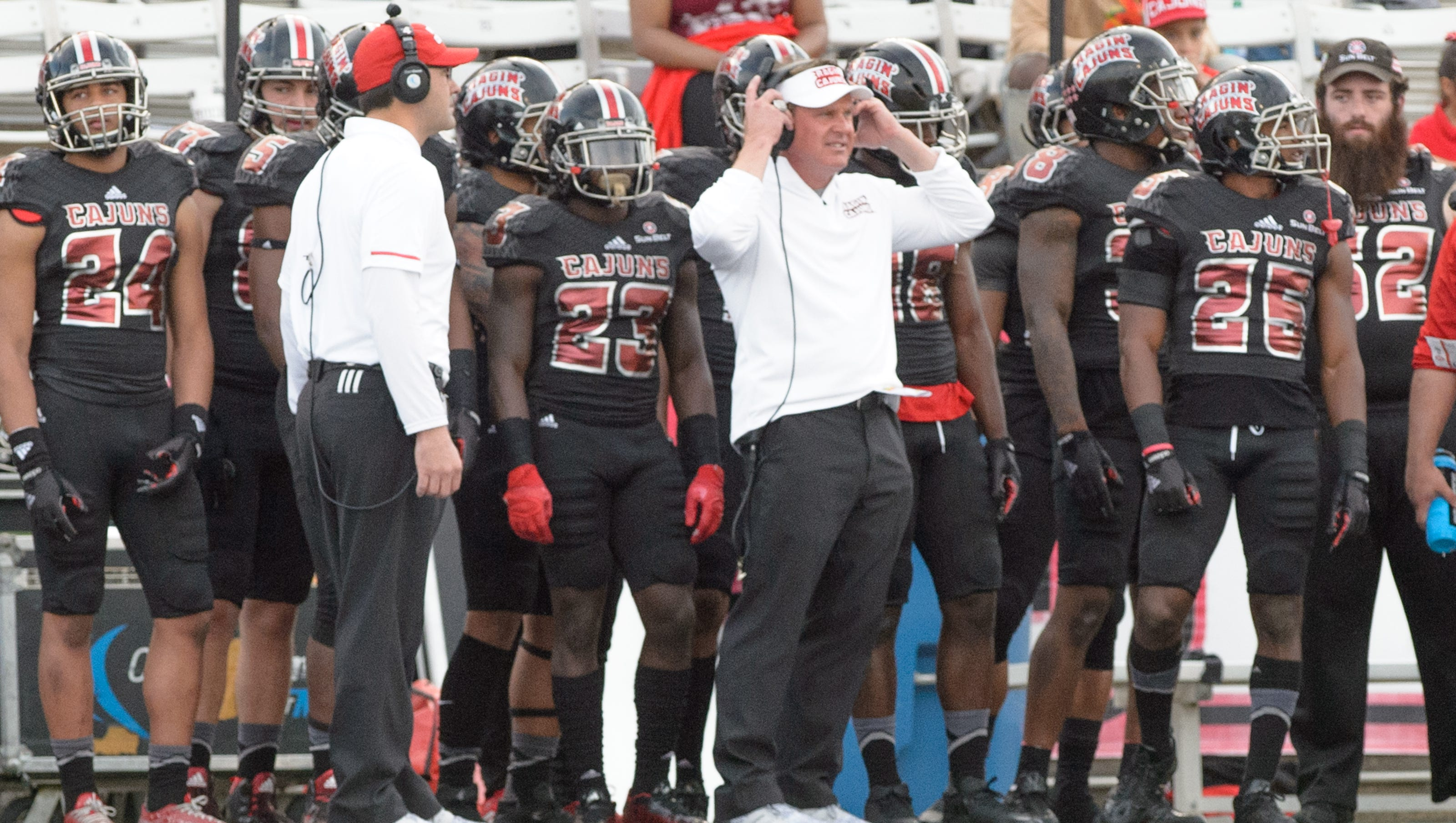 Ul Football Coach Mark Hudspeth Fired After Seven Seasons With The