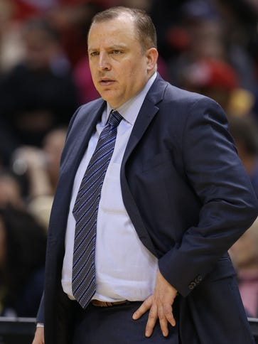Chicago Bulls coach Tom Thibodeau says he has no regrets
