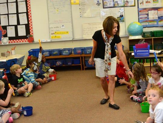J. I. Barron Elementary kindergarten teacher Angie