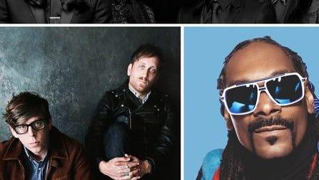 Snoop Dogg, The Avett Brothers and The Black Keys will headline this year's Bunbury Music Festival.