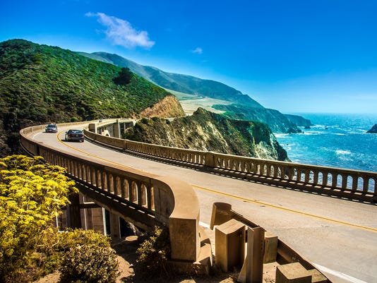 Bixby Creek Bridge on Highway One