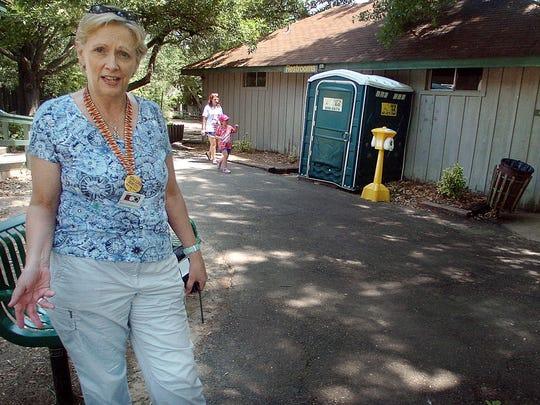 Jackson Zoo director Beth Poff