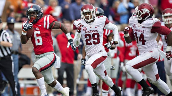 Ole Miss running back Jaylen Walton enters the season in competition for the starting job.