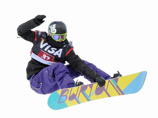 Burton Snowboards pioneered the sport, sponsoring champion Vermonter Kelly Clark, shown here at the Womens' Snowboarding finals of the Visa U.S. Halfpipe Grand Prix at Copper Mountain, Colo., in 2010, as well as other stars including Shaw White.