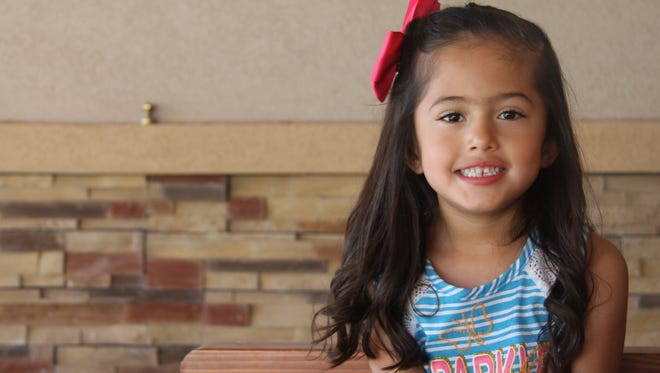 Five-year-old Brook'Lynn Navarrette was born 23 weeks premature. Doctors weren't sure if she was going to survive, but her mother, Geraldine, believed that she would.