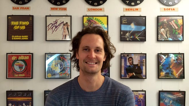SoundCloud CTO and founder Eric Wahlforss in the company's Berlin headquarters.