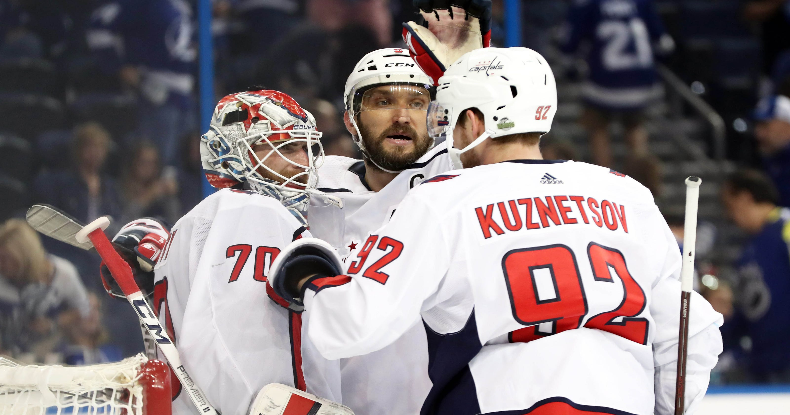 f081f5699a6 NHL playoffs  Capitals show confidence