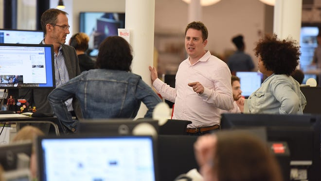 """BuzzFeed Editor in Chief Ben Smith says he wants his news staff to report stories with """"scale and impact."""""""