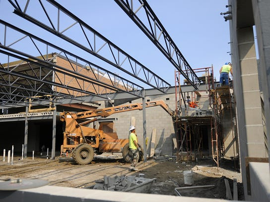 School Construction Projects Wrapping Up