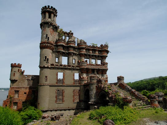 The castle at Bannerman Island-Hudson Highlands State